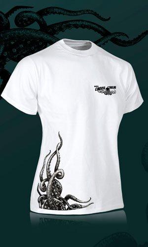 Camiseta de color blanco para chica Choose Cthulhu