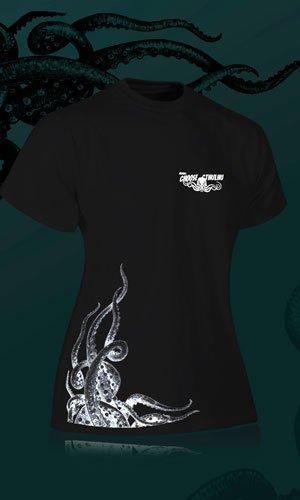 Camiseta de color negro para chica Choose Cthulhu