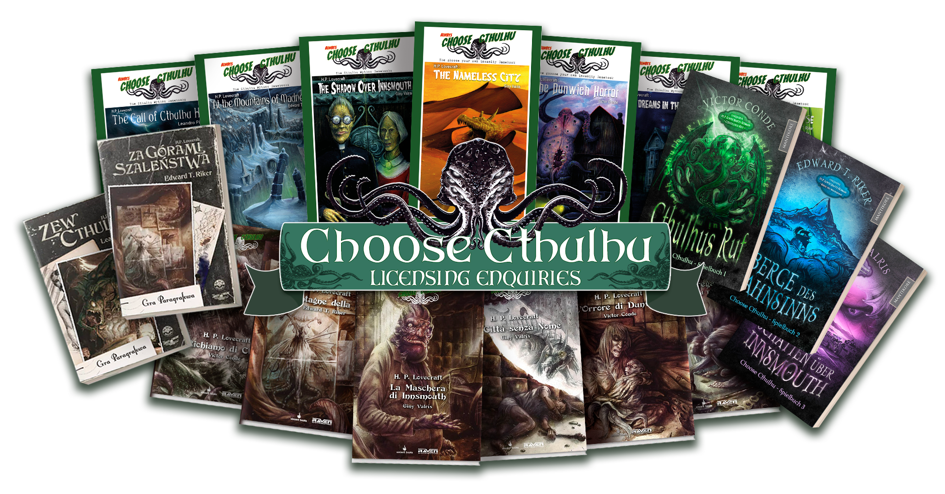 Choose Cthulhu Gamebooks, the Cult of Cthulhu