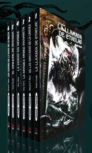 Pack de libros de lujo Choose Cthulhu